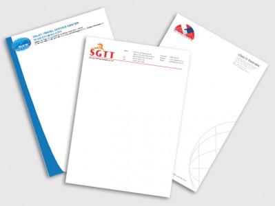 In giấy letter head