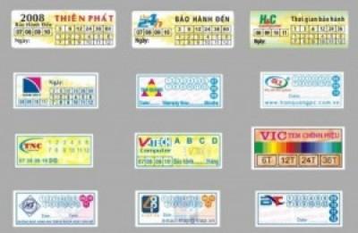 In tem vỡ lấy nhanh giá rẻ ở Hà Nội, giá 50 đ