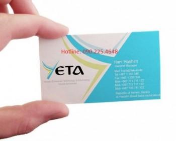 In card visit lấy ngay giá rẻ ở đâu Hà Nội